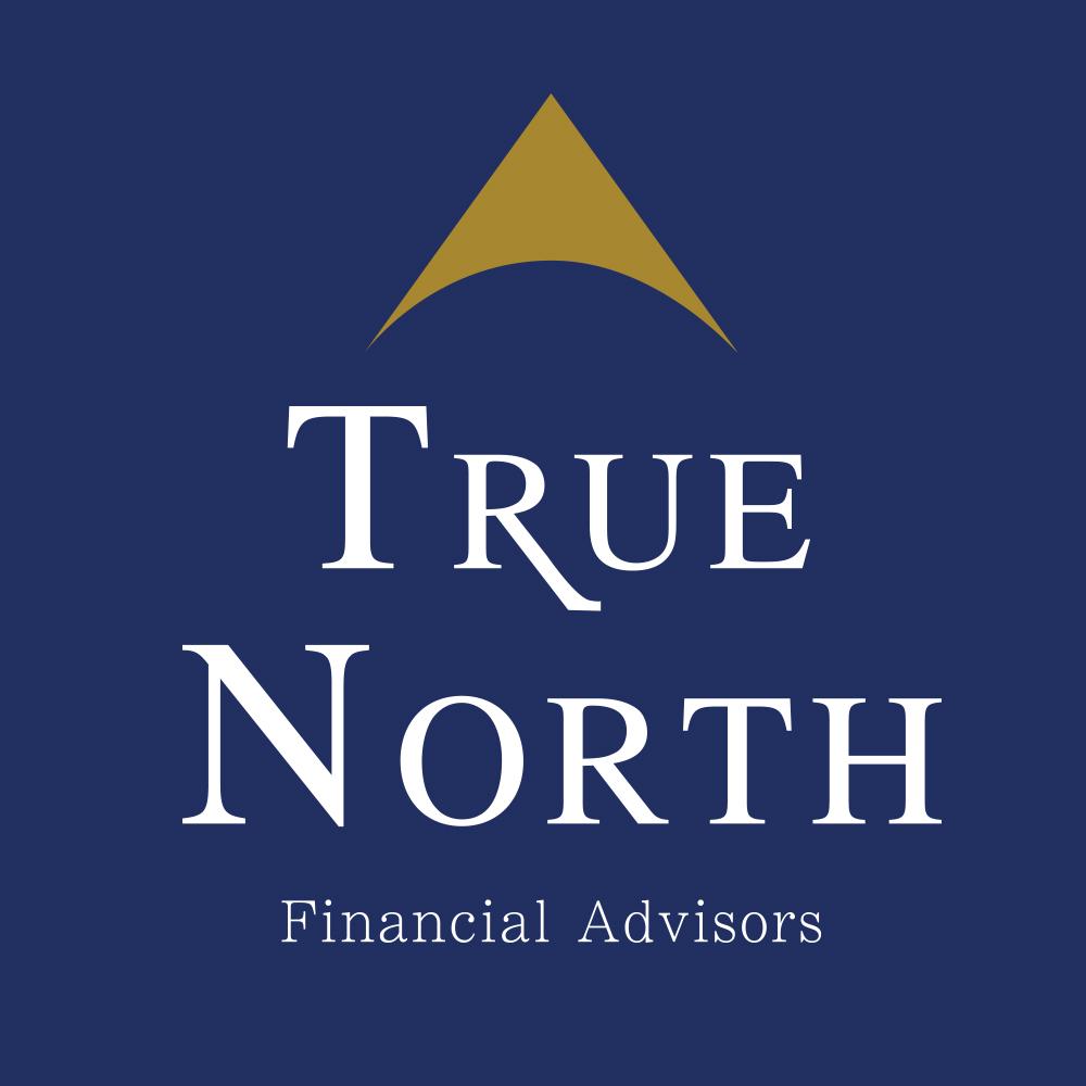 True North Financial Advisors Stacked Logo Dark