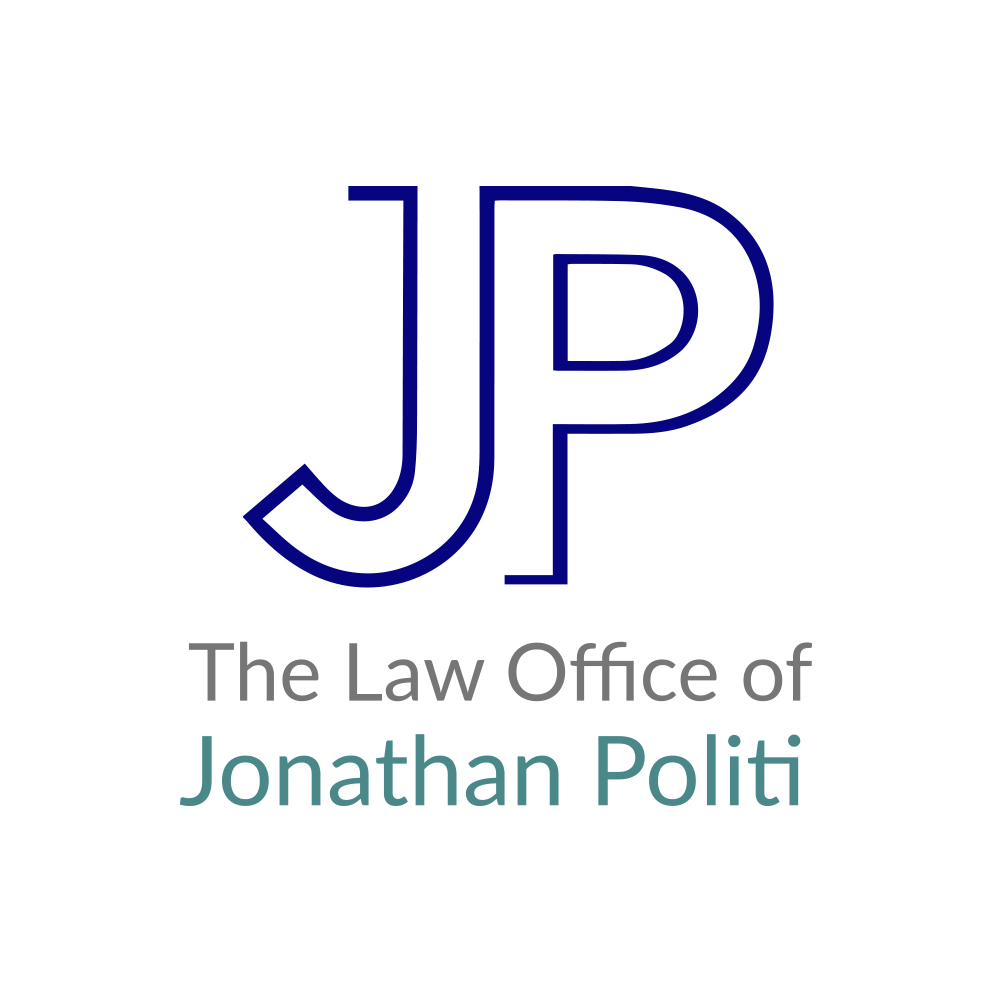 The Law Office of Jonathan Politi Logo Stacked