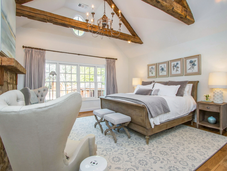 Farmhouse Style Master Suite
