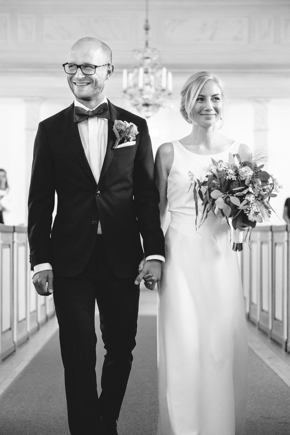 Brudpar:  Anna och Lars  Foto:  Robin Zetterlund