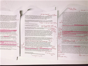 Jessica, Mary Jo and Andrew's first drafts edited by Grace