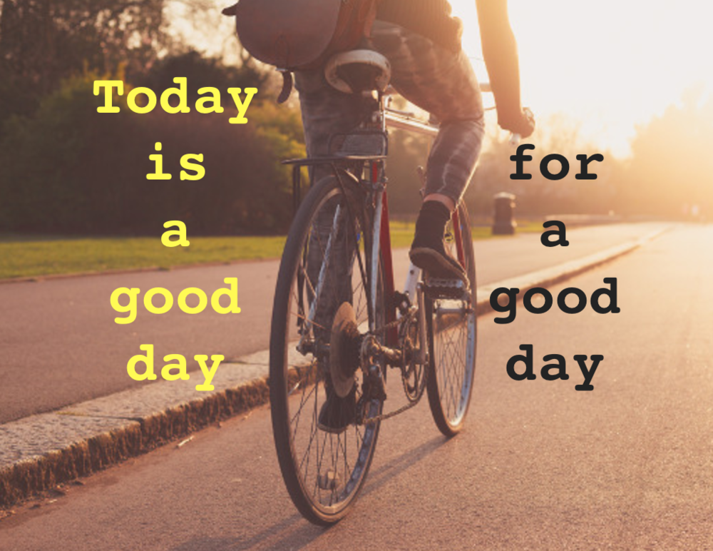 good day cycle pic. Online Therapy advice