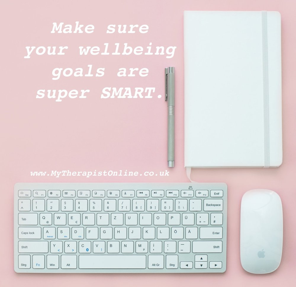 SMART wellbeing goals - My Therapist Online