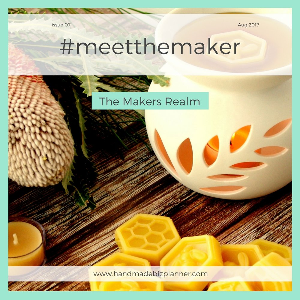 Handmade Biz Planner Meets The Makers Realm