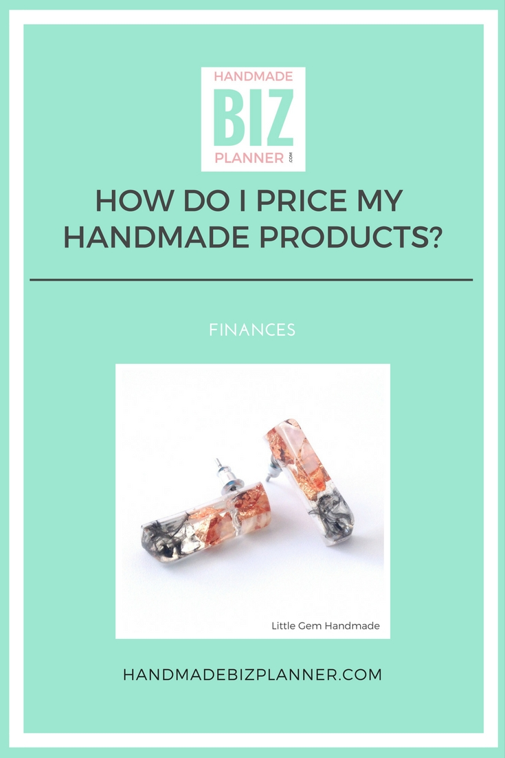 Handmade Biz Planner Blog How do I price my handmade products