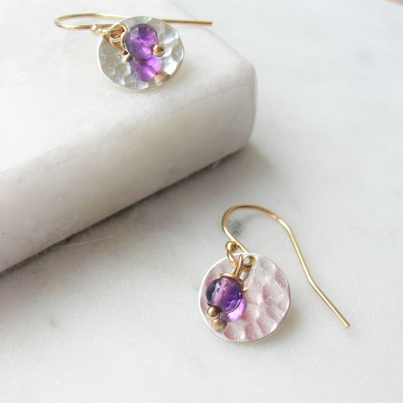Handmadebizplanner.com_Hazeydesigns_Earrings_Amethyst