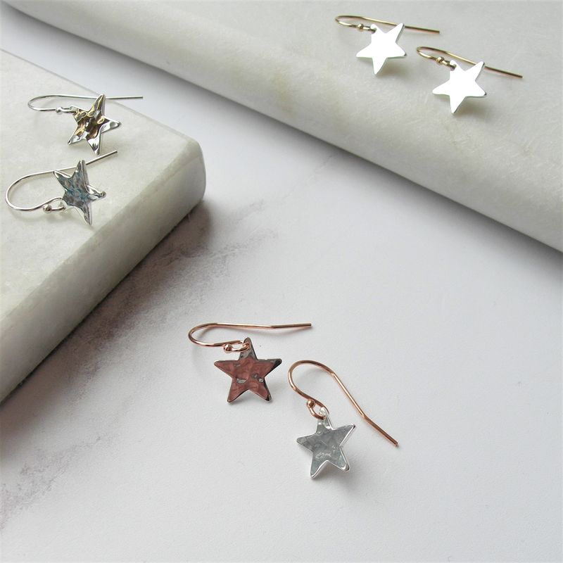 Handmadebizplanner.com_Hazeydesigns_star_earrings