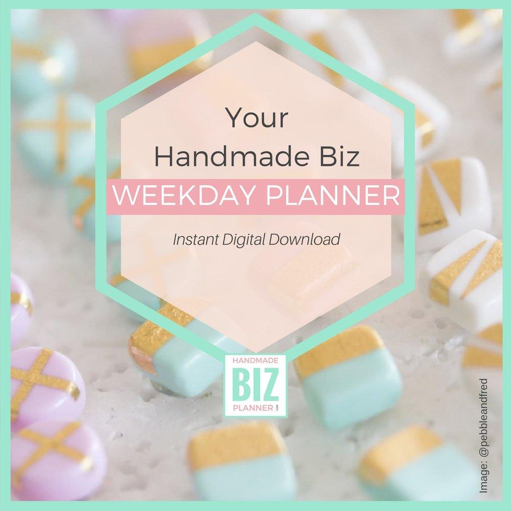 Handmade_biz_planner_Weekday_Planner