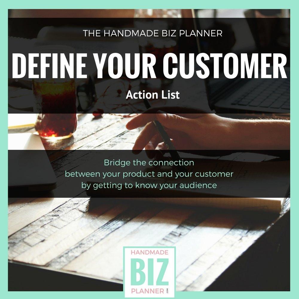 Handmade-Biz-Planner-Define-Your-Customer