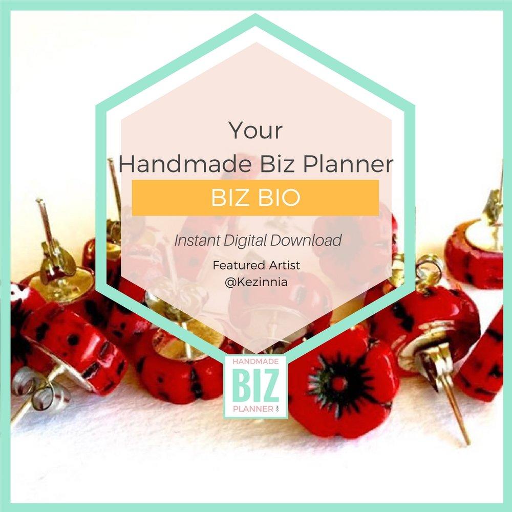 Handmade-Biz-Planner-Biz-Bio