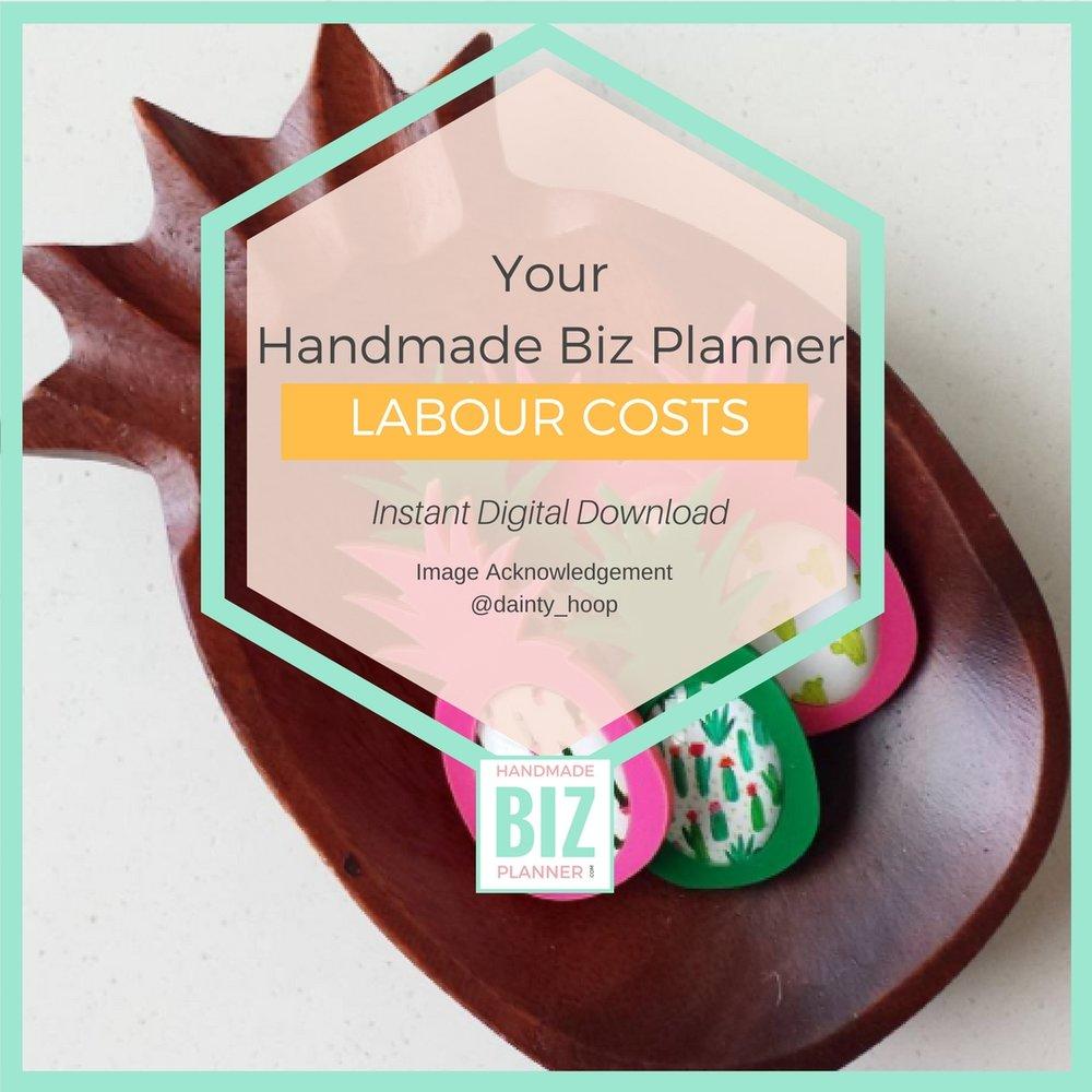 Handmade-Biz-Planner-Biz-Foundations-Labour-Costs