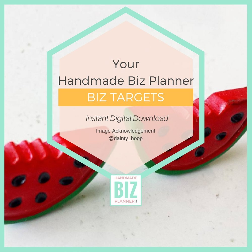 Handmade-Biz-Planner-Business-Targets