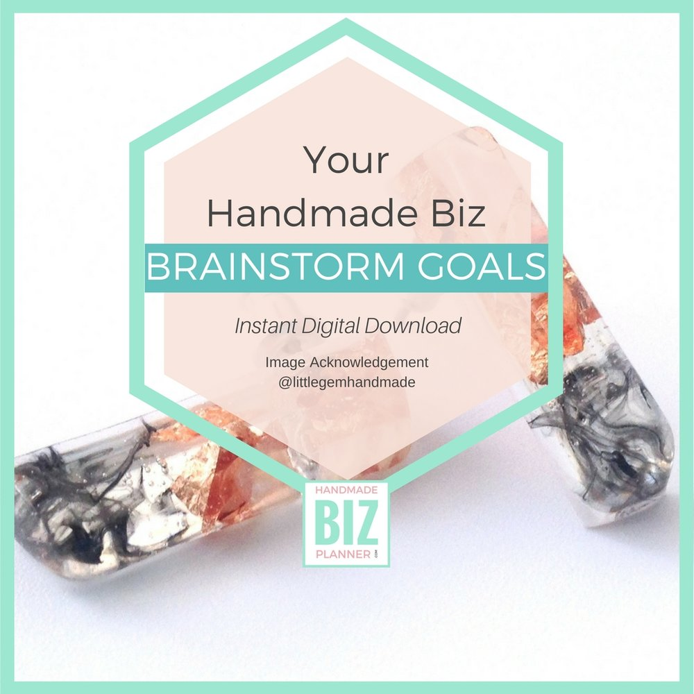 Handmade-biz-planner-brainstorm-goals