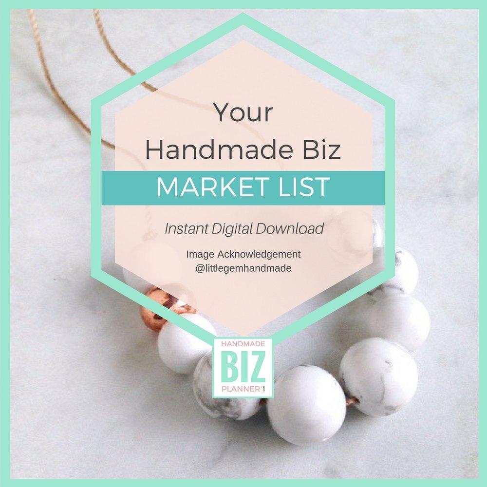 Handmade-biz-planner-market-list