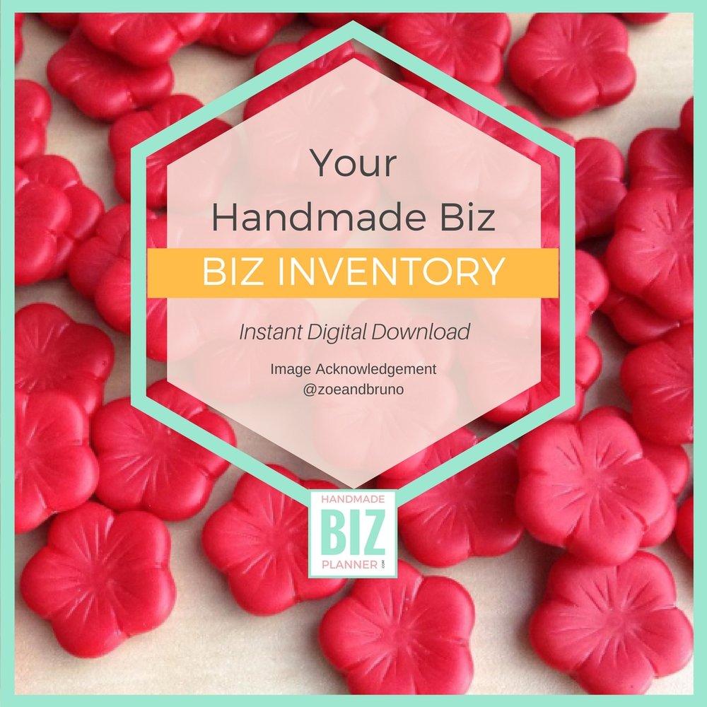 Handmade-biz-planner-biz-inventory