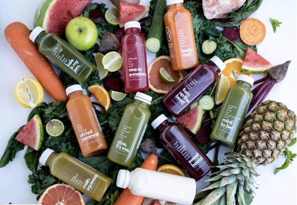Mountain Squeeze - mobile cold-pressed juicery