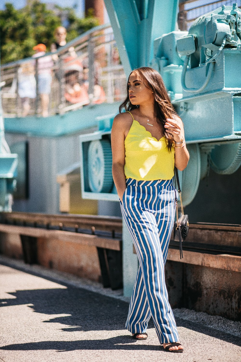 SUMMER OUTFIT IDEAS IN STRIPES