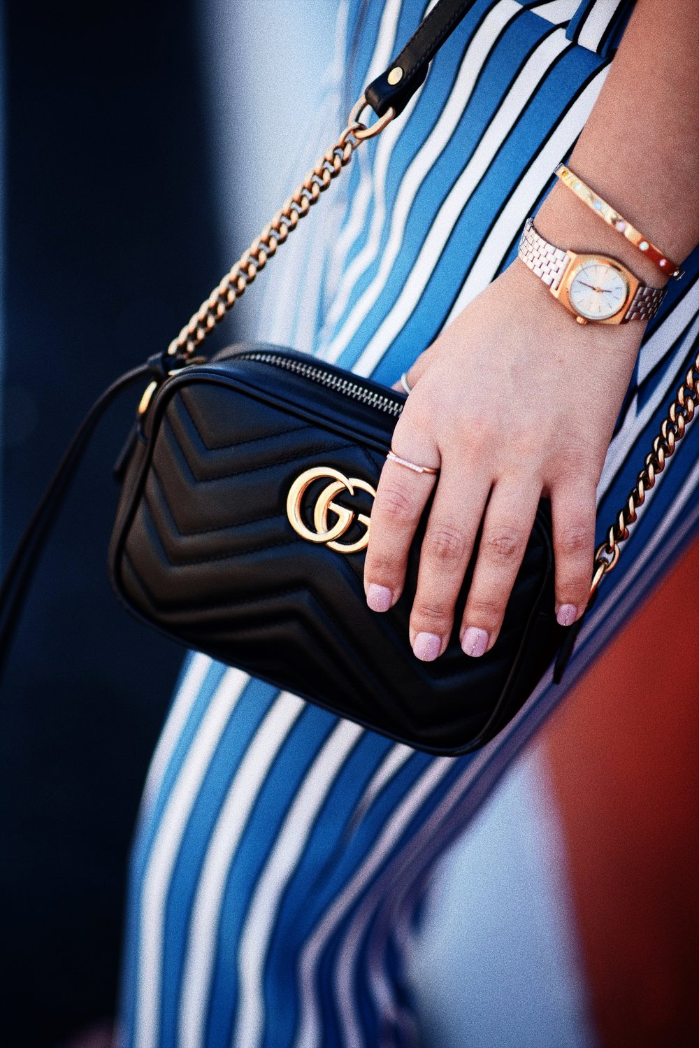 GUCCI BAG MARMONT mini OUTFIT