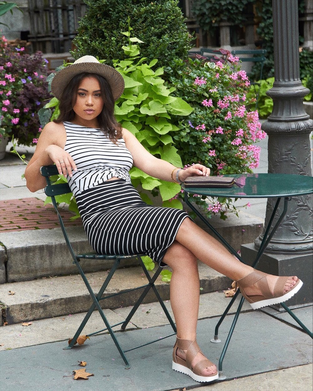 HOW TO STYLE A CLASSIC STRIPE DRESS