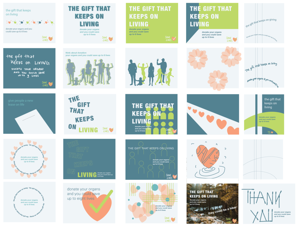 :exploring visual themes for the brand