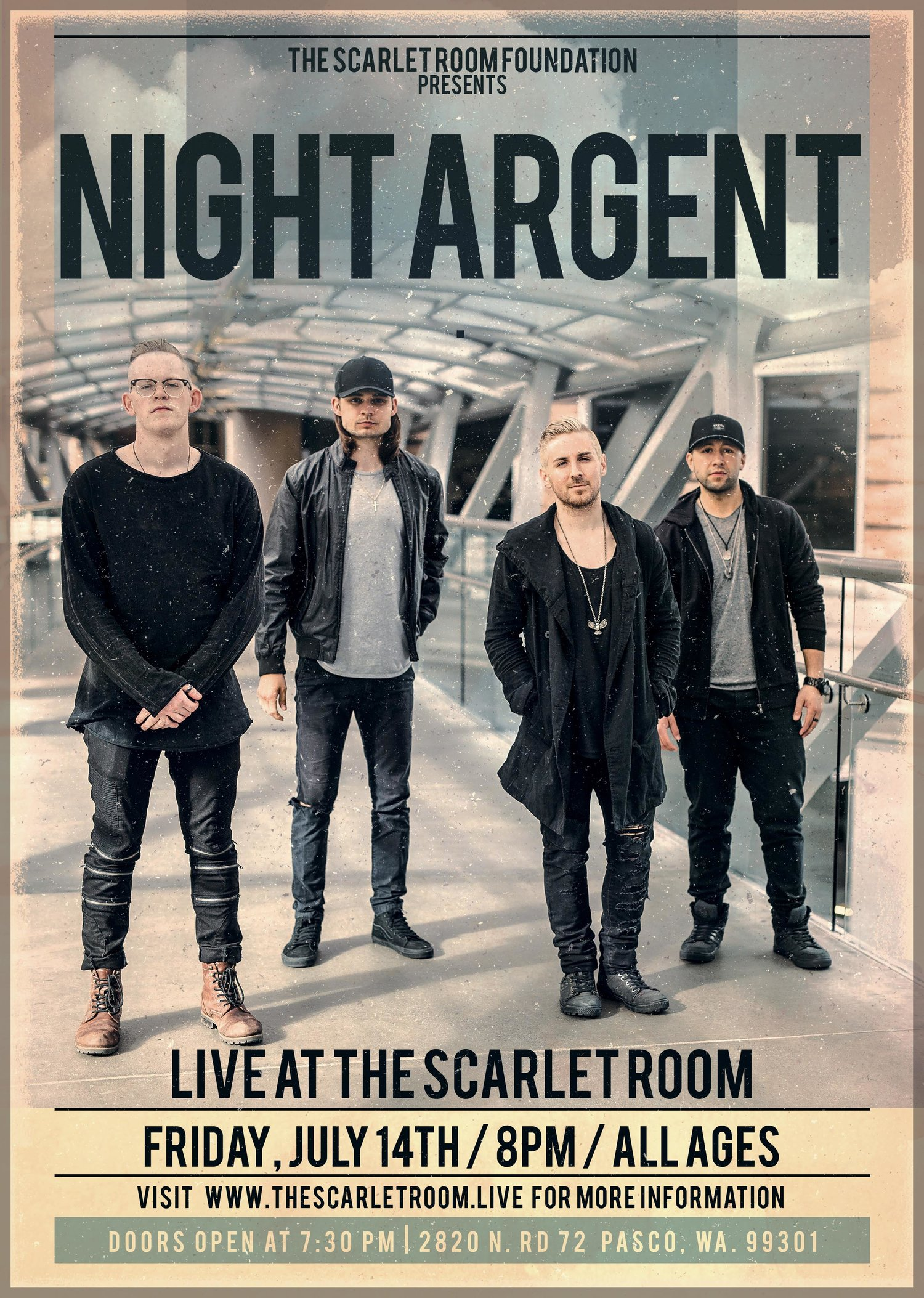 Night Argent The Fear Ep The Scarlet Room Foundation