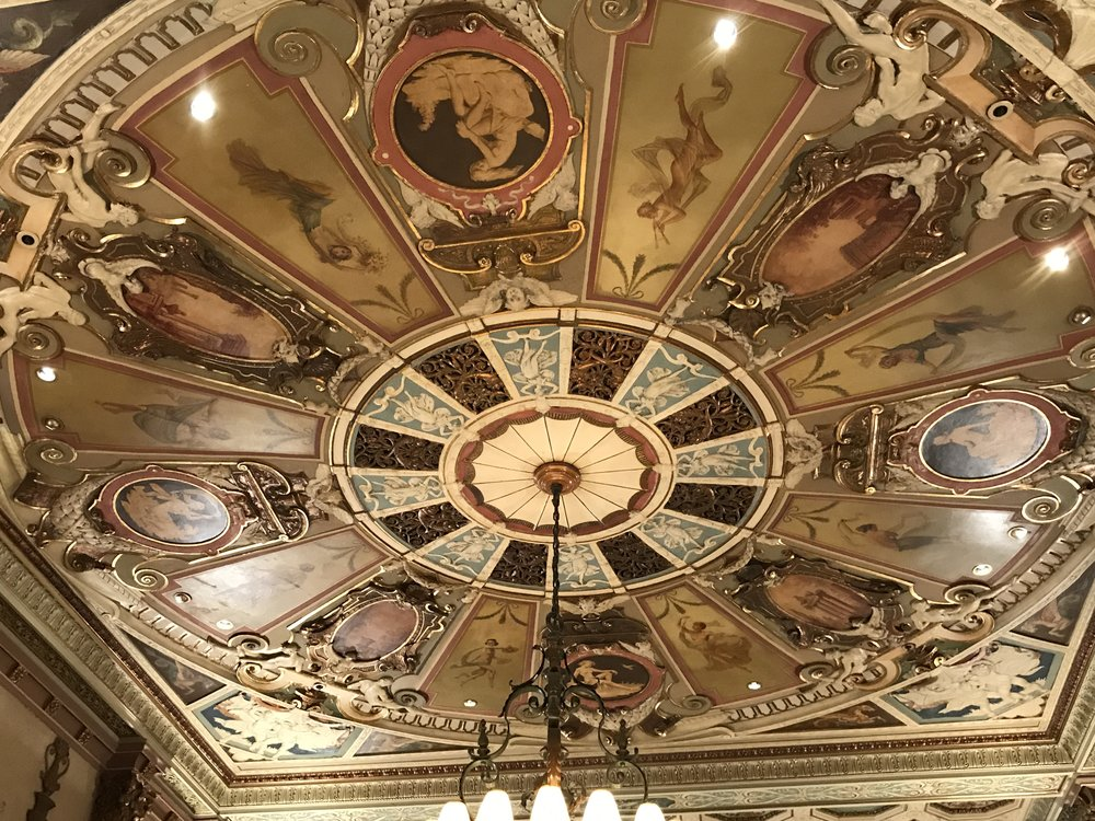 The beautiful ceilings!
