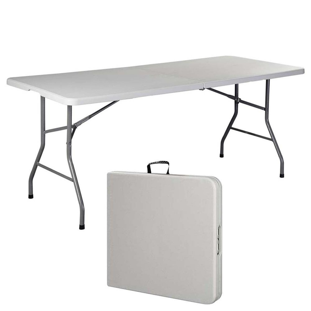 Need a table? - This table has paid for itself over and over again. I can't tell you how many times I've pulled out this table and saved the day! It's so important, I keep it in my trunk so that I always have it with me.