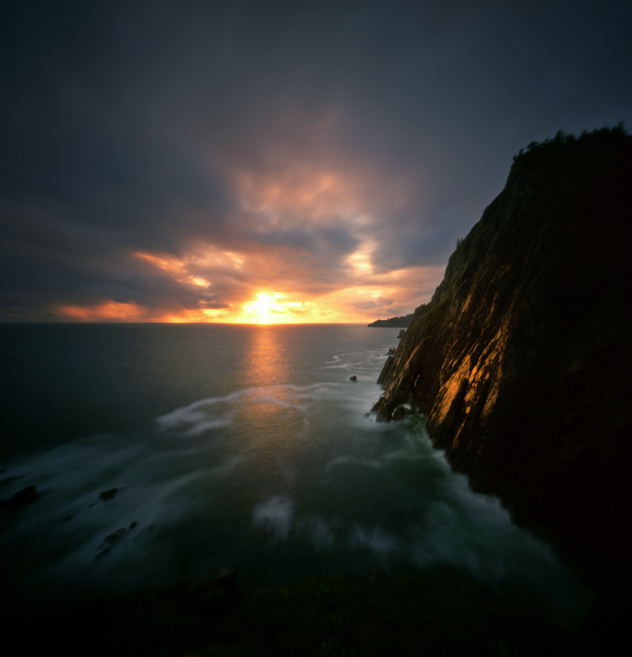 Cliffs of Neahkahnie, Zero Image 6x6, 15 seconds