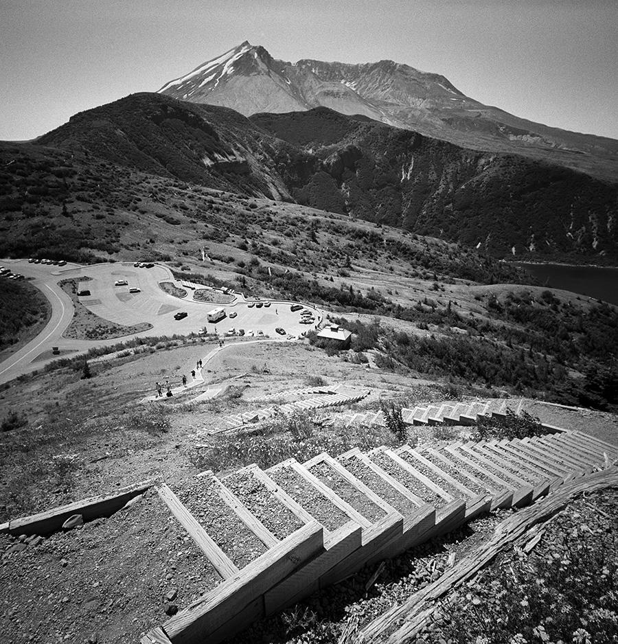 Mt. St. Helens / Kodak Tri-X