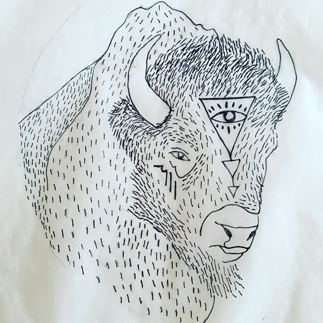 "Water #Buffalo Pendant design in progress for our #standingrock inspired design - it will have ""water is life"" on the back with powerful affirmations from the energies of this sacred guide. They will be available on our site starting this weekend - 100% of profits will support the needs of the water protectors on the ground. We will also be donating a large bundle of buffalo pendants to empower & lift the spirits of the peaceful protestors facing the cold and harsh conditions there! For every bison pendant bought - it will provide one for someone who is there donating there time and energy. We are currently looking for the best initiative to #giveback to that will make the greatest impact-- we'd love to hear from you if you have suggestions. Thank you! #istandwithstandingrock #NODPL"