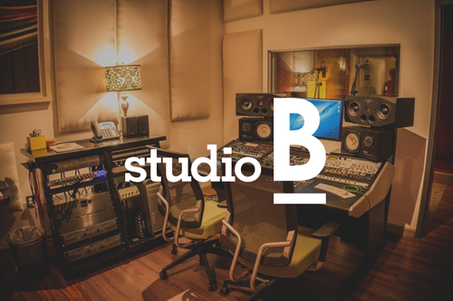 Studio B Is Small Format Overdub With A Control Room Single Iso Booth And Super Cool Sounding Bathroom Its Often Booked For Vocal Recording