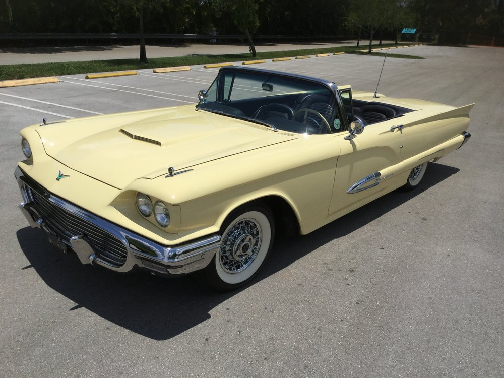 1959 Ford Thunderbird Convertible 430 / 350 HP J code