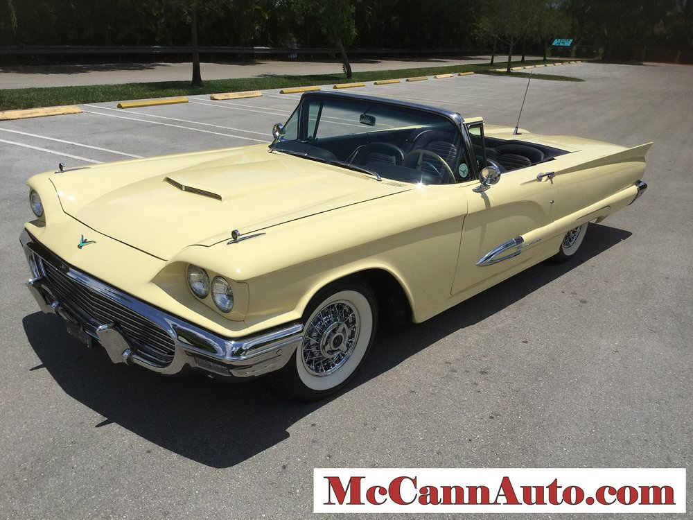 1959 Ford Thunderbird Convertible J code 430/350 HP