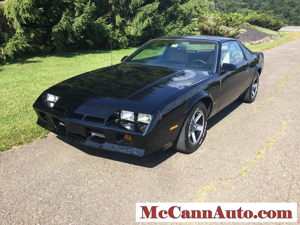1984 Chevrolet Camaro ZF Sport Coupe 350