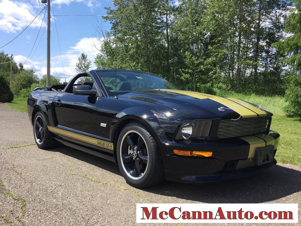 2007 Ford Mustang Shelby GT-H Convertible