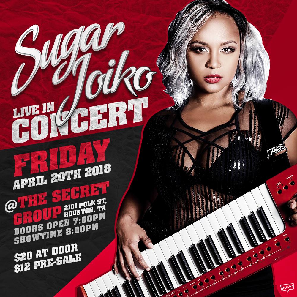 Sugar Joiko LIVE at The Secret Group 4.20.18