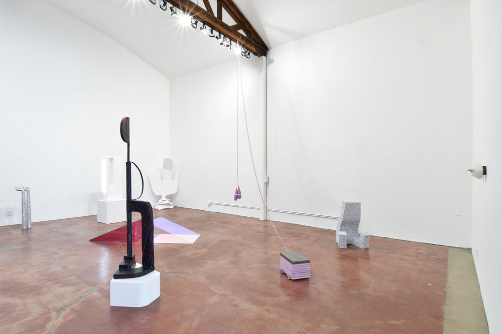 Installation view of 'Apollo on Earth' in the main space.