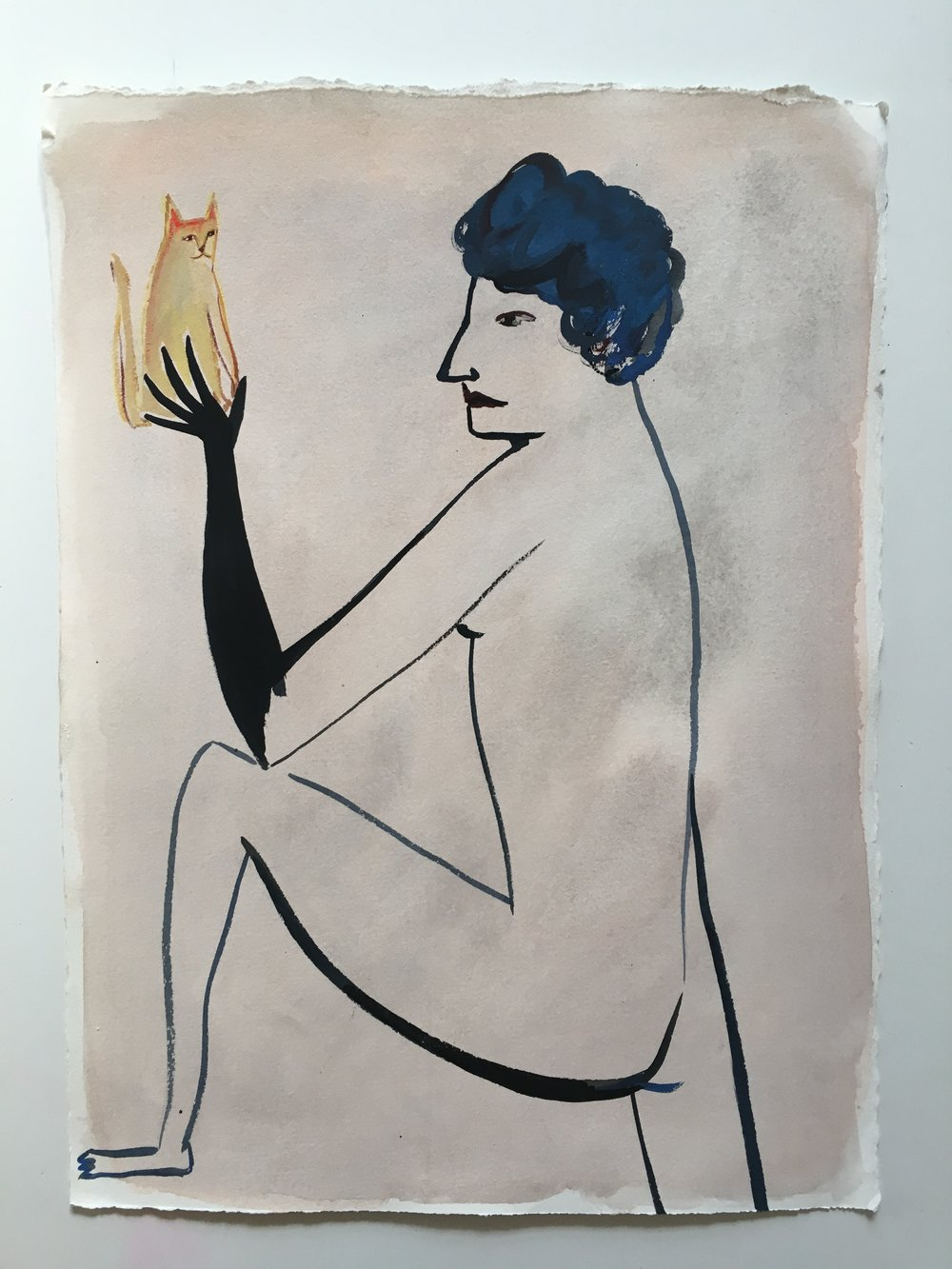 Eve Ackroyd - Balanced Cat