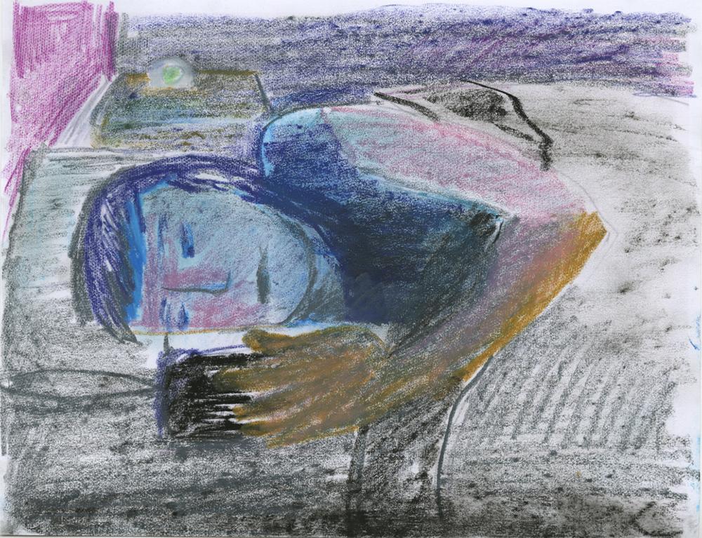 Sarah Thibault - Reading in the Dark (study)