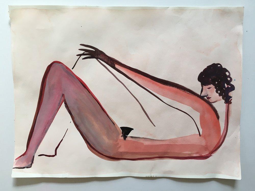 Eve Ackroyd - Untitled Pink Stretch