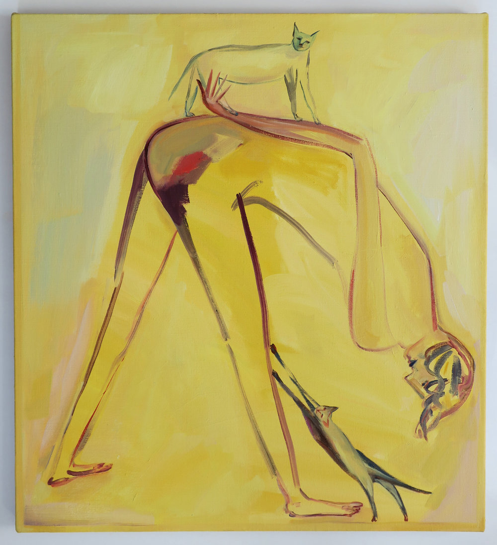 Eve Ackroyd - Yellow Stretch