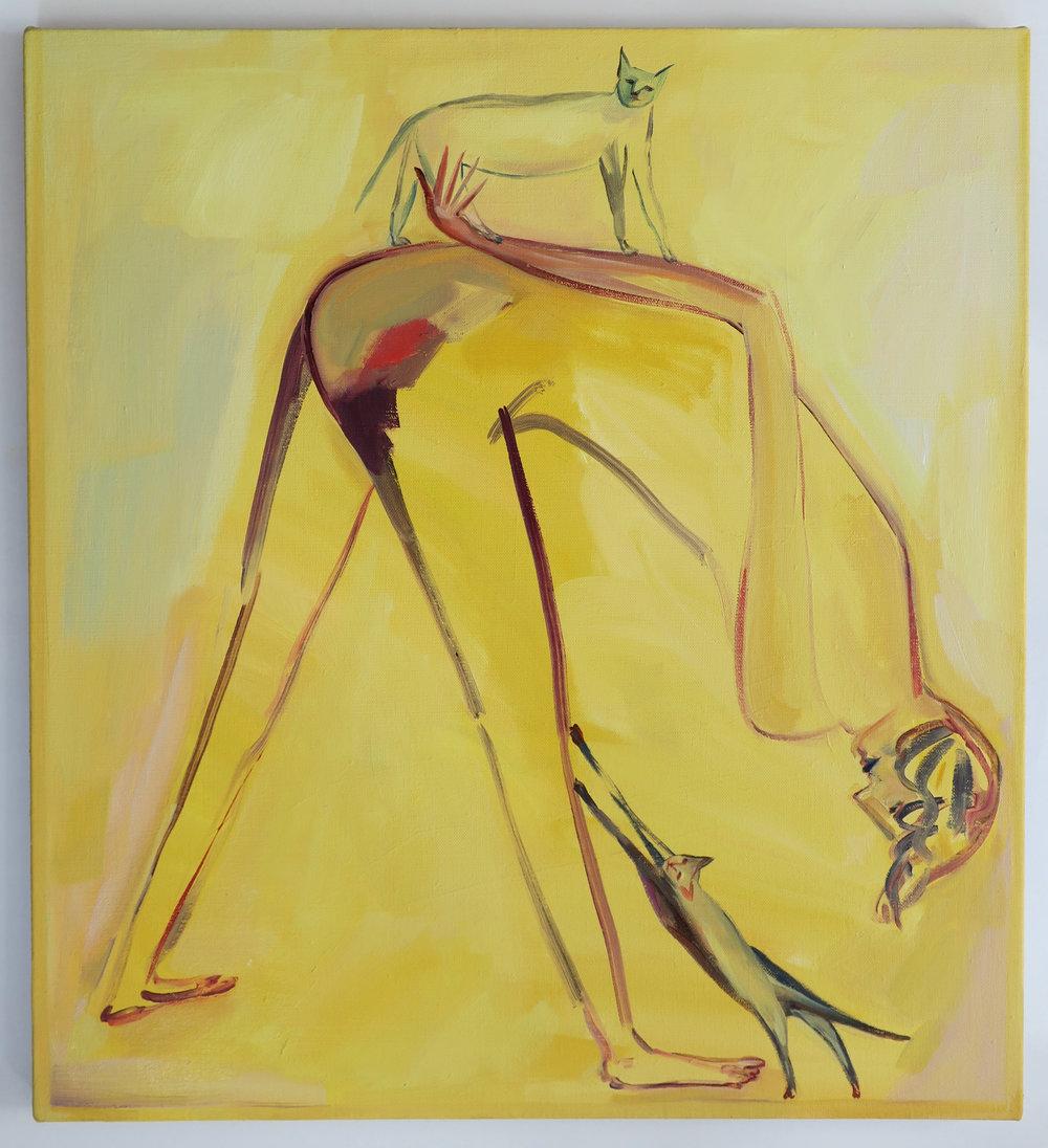 Eve Ackroyd - Yellow Stretch