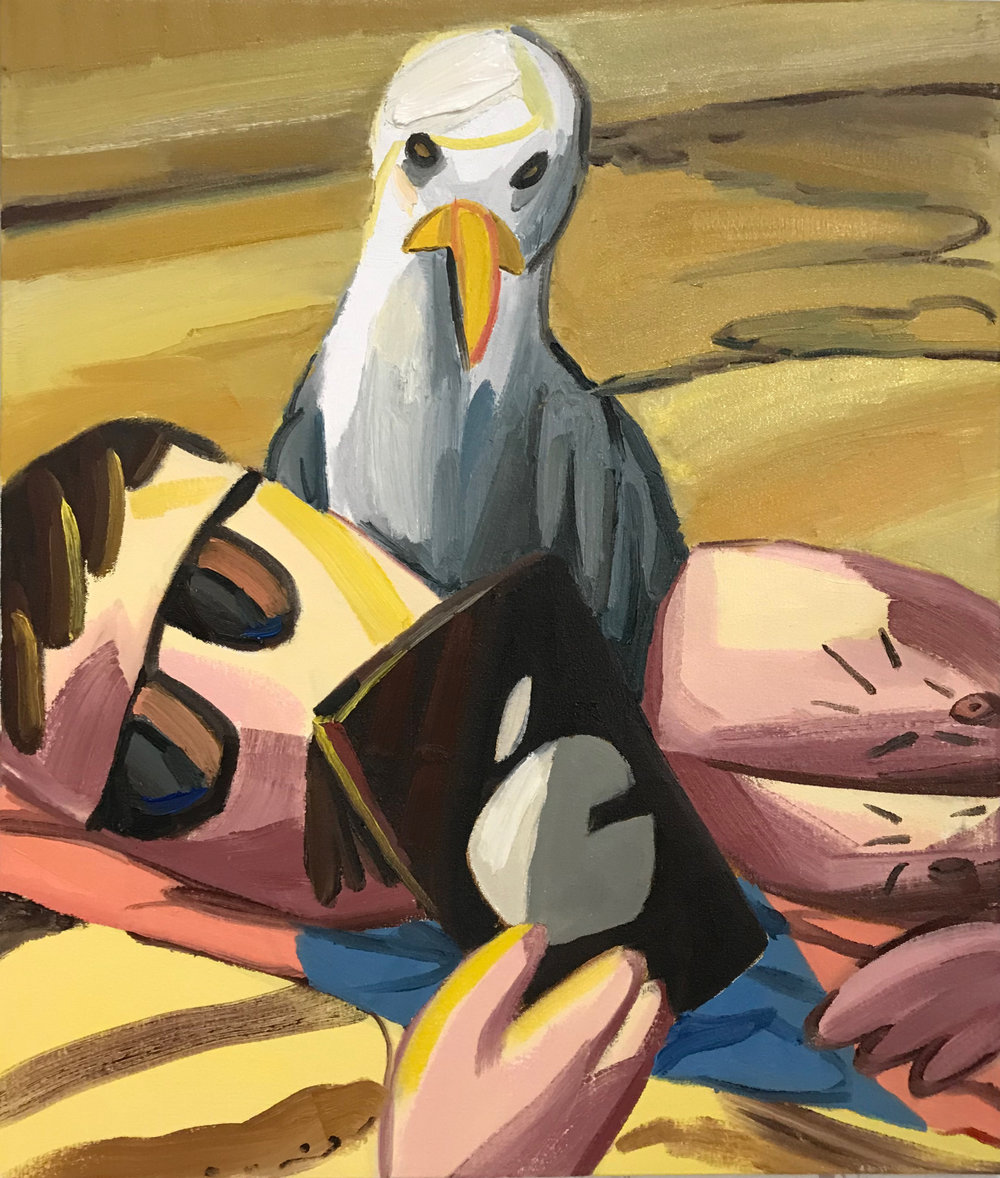 Adam Novak - Seagull, Beach, Phone