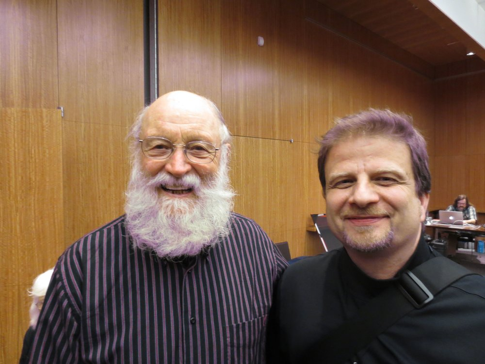 "An honor to play ""In C"" with Terry Riley"