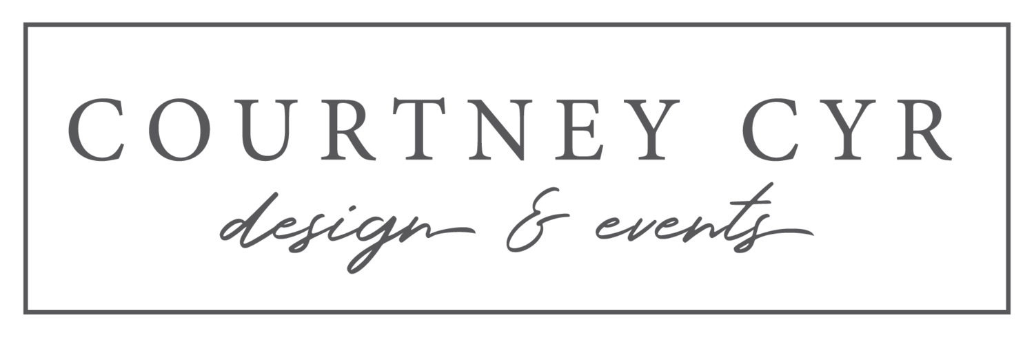 Courtney Cyr Design + Events