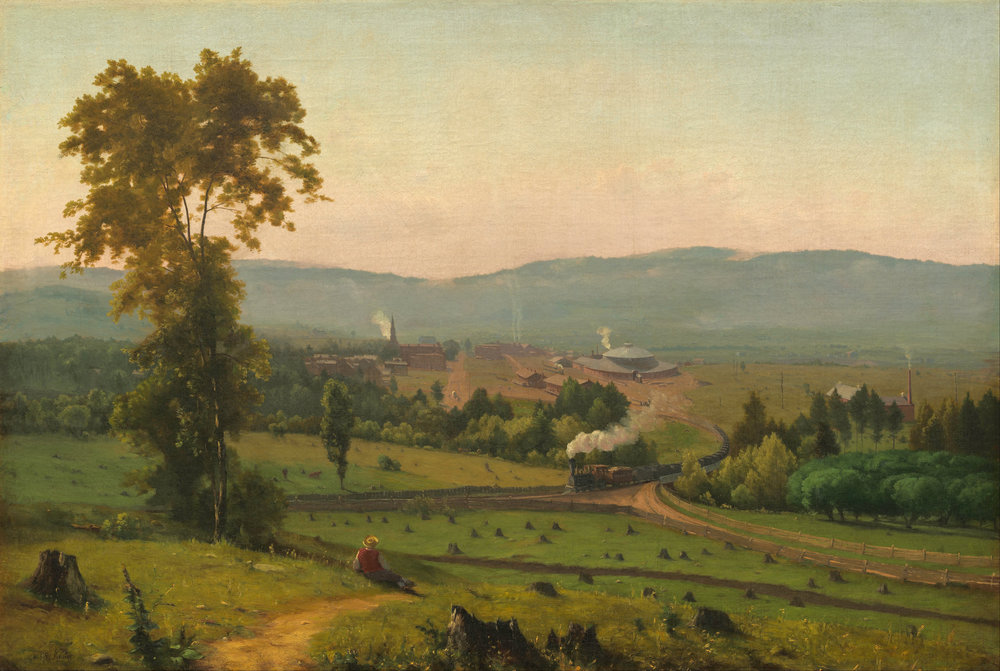 George Inness, The Lackawanna Valley (1856) [Public domain], via Wikimedia Commons