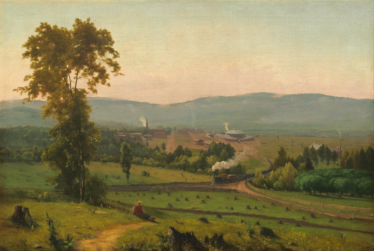 George Innes, The Lackawanna Valley (1856) [Public domain], via Wikimedia Commons