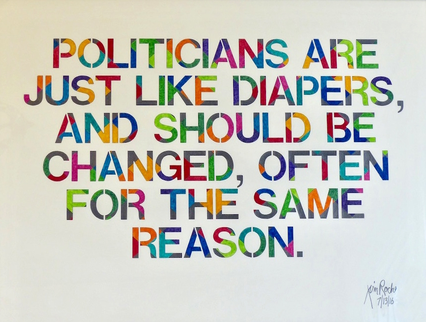 Politicians Are Just Like Diapers