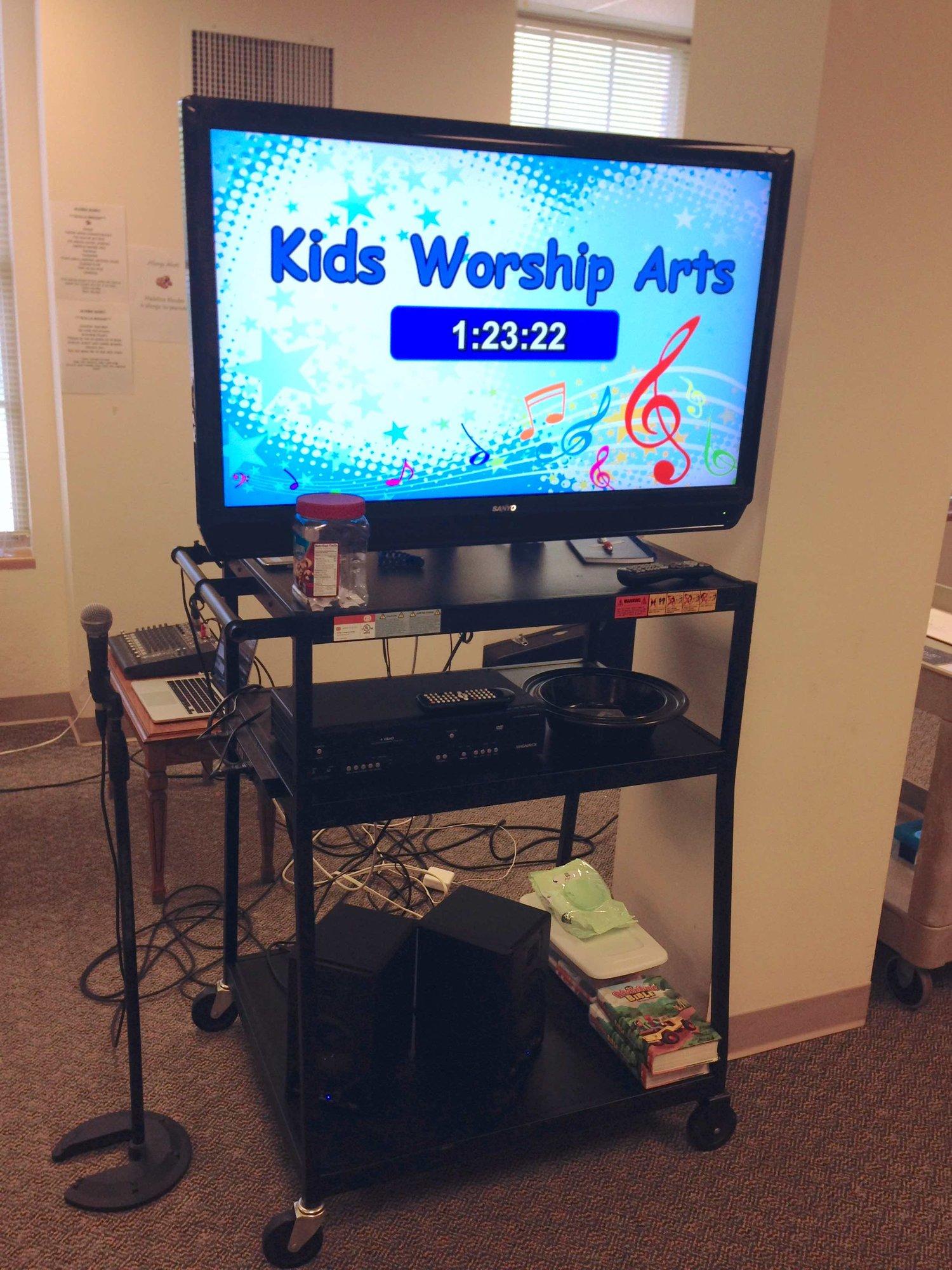 Countdown Timer — Kids Worship Arts