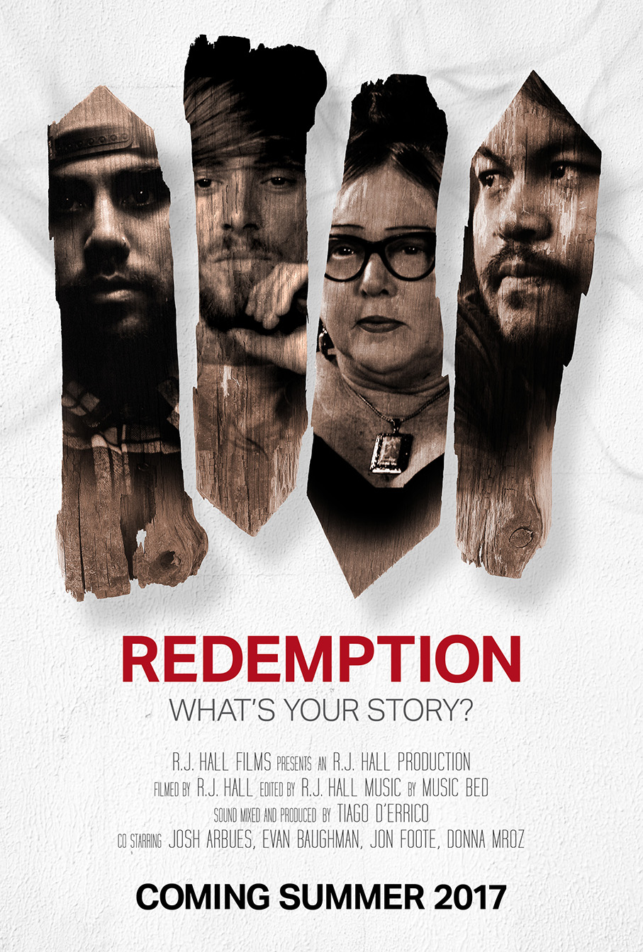 WHAT'S YOUR STORY? - Everyone has a story. We all have things that we struggle with. Redemption the movie is final here! Be inspired by this short documentary that showcases God's beautiful love and grace within these 4 people's stories.